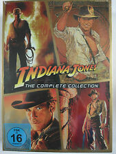 Indiana Jones - 4 Filme Indy Sammlung Complete Collection, letzte Kreuzzug, Ford