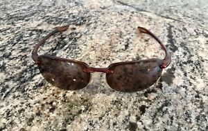 Maui Jim Sport MJ-408-10 Sandy Beach Polarized Sunglasses Tortoise Brown