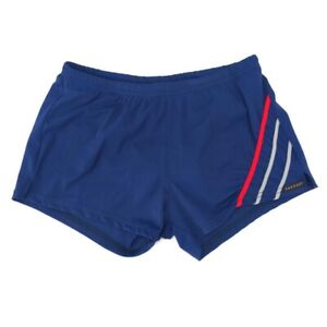 Sauvage Swim Shorts Trunks Mens M Blue Stripe Square Leg