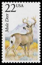 USA -1987- North American Wildlife Stamp - Mule Deer - Sc. #2294
