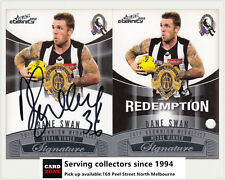 2012 Select AFL Eternity Medal Winners Signature Redemption Card MWS1 Dane Swan