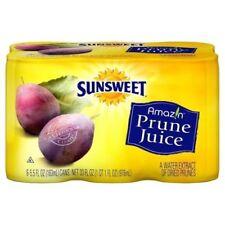 Sunsweet 100 % Prune Juice, 6pk, 5.5 oz