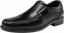 JOUSEN Men Loafers Leather Formal Dress Shoes Lightweight Square Toe SZ 12 (8371