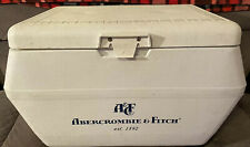 Vintage 1970s Abercrombie & Fitch Advertising Cooler Ice Chest 15�Hx25�Wx15�D