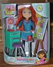 Dora's Explorer Girls Links School Art Room Playset 2008 Mattel N9149 NEW