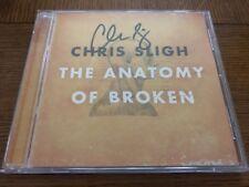 VG+ AUTOGRAPHED! The Anatomy of Broken - Chris Sligh (CD, 2010, Curb)