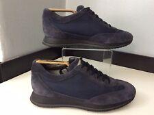Hogan Mens Blue Suede Sneakers, Trainers Uk 6 Eu40, Shoes