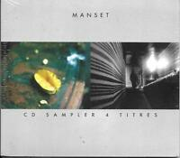 CD DIGIPACK COLLECTOR 4 TITRES GERARD MANSET OFFERT PAR LA FNAC 1999 RARE NEUF
