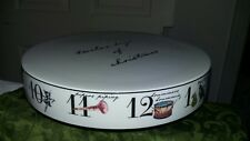 Better Homes & Gardens 12 days of Christmas cake plate new porcelain handwash