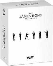 James Bond: Complete 24 Movie Sean Connery 007 Collection Boxed BluRay Set NEW!
