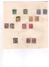 briefmarken belgien und brief gestempelt