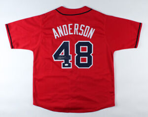 Ian Anderson Signed Atlanta Braves Jersey (JSA COA) 2021 Rookie Starting Pitcher
