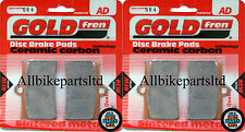 Honda RS 250 Front Sintered Brake Pads 1993-1997 - Goldfren - RS250 RS-250