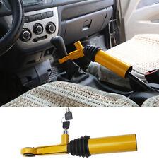 8-Hole Car SUV Gear Shift Handbrake Lock w/ key Anti-theft Security Stainless