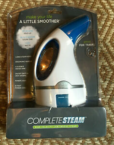 Conair GS2CS Complete Steam Hand Held Fabric Steamer Portable for Travel 1100W