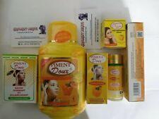 Piment Doux 5 Days 6 FULL SET Milk 500ML, Serum, Cleanser, Soap, Face Cream+Tube