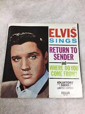 Original 45 Record (Sleeve )Elvis Presley RCA (return To Sender )1977