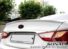 Painted Rear Wing Spoiler 1Pcs For Hyundai i45 Sonata 2011 2012 2013 2014+