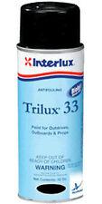 BLACK Interlux Trilux 33 Antifouling Paint Outboard Outdrive 12 oz YBA063A16