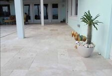 French Pattern Travertine Tumbled Pavers 30mm Thick Tile Premium Quality Stone