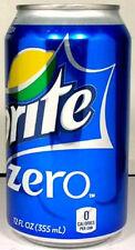 FULL NEW 12oz 355ml Can American Coca-Cola Sprite Zero USA New 2012 Packaging