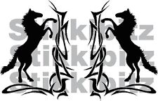 Tribal Horse Scroll Car Van Window Horsebox Trailer Truck  Sticker Decals HO11