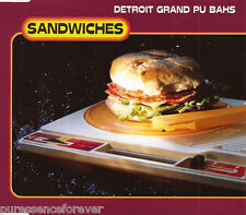 DETROIT GRAND PUBAHS - Sandwiches (UK 4 Trk CD Single)