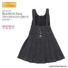 Azone Pureneemo Blue Bird`s Song PNS plisado Jumper falda gris Blythe 1/6 Obitsu