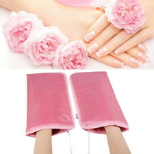 Mitts For Paraffin Manicure Waxing Skin Mate Spa Treatment Heat Mittens