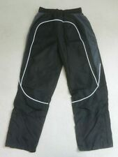 BNWT Next Boys Black Polyester Tracksuit PE Bottoms Trousers Age 8 Years