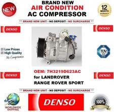 DENSO AIR CONDITIONING AC COMPRESSOR 7H3219D623AC LANDROVER RANGE ROVER SPORT