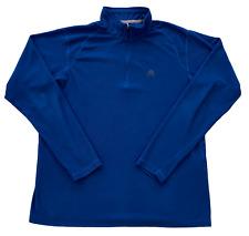New listing Nike ACG 1/4 Zip Shirt Men's Size Large long Sleeve Blue