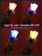 LED Light Up Multi Color Rose-Great for weddings, Valentine's and Mother's Day!