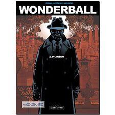 Wonderball 02 Phantom detective thriller cómic Colin Wilson Hard Boiled novela policíaca