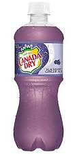 Canada Dry Blackberry Ginger Ale Soda 6 Pack