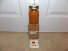 * Longaberger * 16 Ounce Woven Jar Candle (Pumpkin Spice) Item # 71256 Brand New