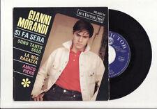 RARE EP GIANNI MORANDI-SI FA SERA-RCA-FRENCH