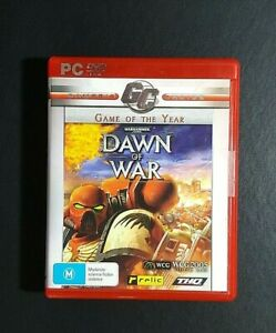 Dawn Of War Game Of The Year Edition *New / Sealed (PC, 2004) PC Game -FREE POST