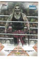 THE FIEND BRAY WYATT 2020 TOPPS WWE UNDISPUTED ORANGE PARALLEL /99