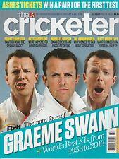 Cricketer Magazine (Wisden) - July 2013 - Graeme Swan