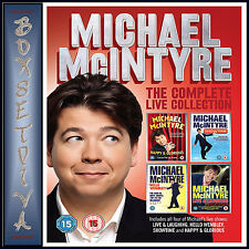 MICHAEL MCINTYRE - COMPLETE LIVE COLLECTION **BRAND NEW DVD BOXSET*