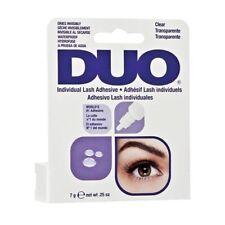 Duo Eyelash Lash Glue Adhesive. Brush On & Latex Free. Clear or Dark