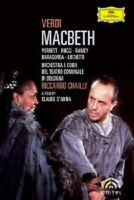 MACBETH (GA) LEO NUCCI 2 DVD KLASSIK NEW!