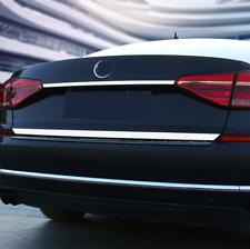 For VW Passat 2016-2020 Chrome Rear Trunk Tailgate Door Lid Cover Trim Strip 2PC
