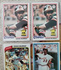 1978 TOPPS Baseball Card #36 Eddie Murray All-Star Rookie RC SGC 9 Centering=WOW