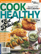 bh&g COOK HEALTHY 2015 Recipes under 400 Calories Turkey Burger Slow Cook Book