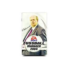 ORIGINAL INSTRUCCIONES PARA PLAYSTATION 2 -PS2 JUEGO Fussball Manager 2004