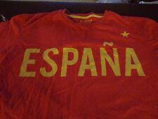 Red Espana Soccer Short Sleeve Shirt   #12   Size 2S  Easy Wear  F4