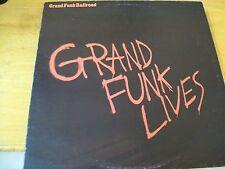 GRAND FUNK RAILROAD GRAND FUNK LIVES  LP ITALY