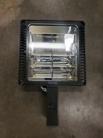 "RAB ALED LED Area LIGHT ALED2T50N Type II w/ 8"" pole mounting arm neutral"
